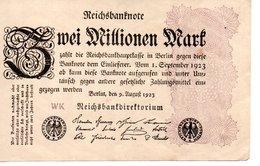 Zwei Millionen Mark - [ 3] 1918-1933 : République De Weimar