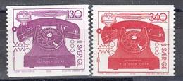 Schweden 1976 - 100 Years Telephon, Mi-Nr. 939/40, MNH** - Suède