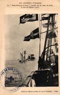 BATEAU - NOS PECHEURS D'ISLANDE - LE SAINT FRANCOIS D'ASSISE - CACHET INTERESSANT - Fishing Boats