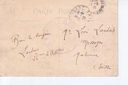 La Rochelle  Avec Cachet  Commission De Gare De La Rochelle - Marcophilie (Lettres)