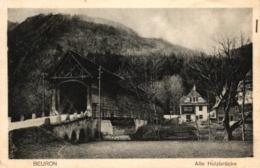 Beuron, Alte Holzbrücke, Um 1930 - Deutschland