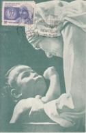 India 1980  Mother Teresa  Maximum Card  # 15616  D  Inde  Indien - Mother Teresa