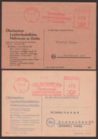 """AFS Görlitz 1949 Und 1950, Oberlausitzer Landwirtschaftschaftlicher Hülfsverein, Dabei """"80 Jahre"""" Jubiläum - [6] Oost-Duitsland"""
