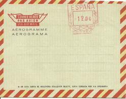 ESPAÑA, EDIFIL AEROGRAMA 87  MNH  ** - Otros