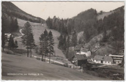 AK - NÖ - DÜRNBACHTAL Bei Waldegg - Teilansicht 1957 - Wiener Neustadt