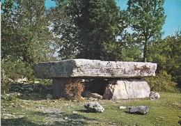 EN PARCOURANT NOS CAMPAGNES--un Dolmen, Vestige Du Passé--table Mesurant 3 + 7 M--voir 2 Scans - France