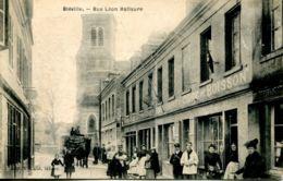N°66561 -cpa Bléville -rue Léon Hallaure- - France