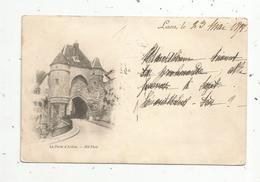Cp , 02 ,  LAON , Dos Simple ,voyagée 1898 - Laon