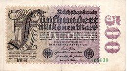 500 MILLIONEN MARK  1 September  1923 - [ 3] 1918-1933: Weimarrepubliek