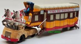 CAMION BERLIET TLB VINS DU POSTILLON - Camions