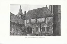 1902 - Phototypie - Sens (Yonne) - La Maison Du Maître De L'oeuvre - FRANCO DE PORT - Sin Clasificación