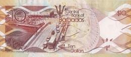 BARBADOS P. 75 10 D 2017 UNC - Barbados