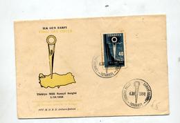Lettre Fdc 1958 Sergisi - 1921-... Republic