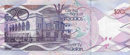 BARBADOS P. 76 20 D 2017 UNC - Barbados