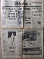 Journal Libération (21 Mai 1963) B Bradot - Survivre à De Gaulle - Algérie Printemps 63 - J Dutourd - AM Matute - Pef - Kranten