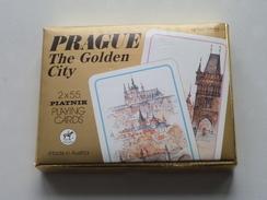 PRAGUE The Golden City / Speelkaarten / Playing Cards / Compleet In Verpakking PLATNIK N° 2553 ( Zie Foto's ) ! - Cartes à Jouer Classiques