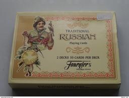 Traditional RUSSIAN Fournier / Speelkaarten / Playing Cards / Compleet In Verpakking Made In Spain ( Zie Foto's ) ! - Cartes à Jouer Classiques