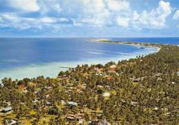 POLYNESIE  BASE AVANCEE DE HAO - VILLAGE D'OTEPA - Polynésie Française