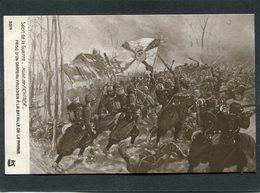 CPA - Illustration Hugo De Fichtner - Prise D'un Drapeau Prussien à La Bataille De La Marne - Guerre 1914-18