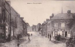 53 -Très Belle Carte Postale Ancienne De Aron    Rue Principale - Frankreich