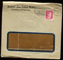 Enveloppe Commerciale De Strasbourg En 1941 - N167 - Postmark Collection (Covers)