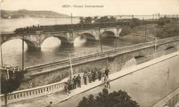 IRUN - Puente International,passage Du Train. - Other