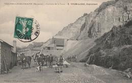 53 -Très Belle Carte Postale Ancienne De  Villiers Charlemagne   Carrière De La Fosse  E.Chubilleau - Frankreich