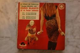 HUGO BLANCO MR MOLIENDO CAFE .EL CIGARRON EP 1962 LATIN CUATRO - 45 T - Maxi-Single