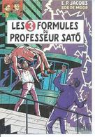 12 - LES 3 FORMULES DU PROFESSEUR SATO - Tome 2  -  Déssin: EDGAR-P. JACOBS ( BLAKE ET MORTIMER ) - Künstlerkarten