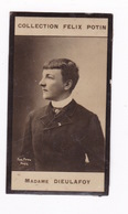 Petite Photo 1ère Collection Félix Potin (chocolat), Exploratrice Jane Dieulafoy, Phot. Eugène Pirou, Paris, Vers 1900 - Albums & Collections
