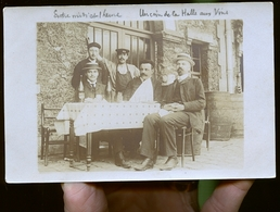 PARIS LA HALLE AUX VINS 1900  PHOTO JOUGLA         JLM - Pubs, Hotels, Restaurants