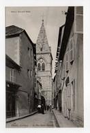 - CPA USSEL (19) - La Rue Saint-Martin (avec Personnages) - Edition Eyboulet Frères N° 22 - - Ussel