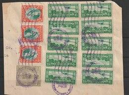 MiNr. 316 U.a. Guatemala /  1936, 1. Okt./1937, 1. Jan. Freimarken: Landschaften Der Karibikküste. - Guatemala
