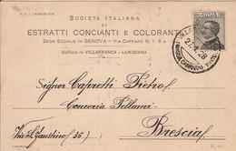 (C).Villafranca-Lunigiana(MS).Cartolina Commerciale Intestata (25-a18) - Massa