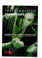 CINEMA RETROSPECTIVE MASUMURA YASUKO PARIS 2000 - Cinema