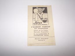 Image Religieuse.Jésus Adolescent.Publicité Salvy Farine Lactée L Aliment Des Nourrissons à Courbevoie. - Devotion Images