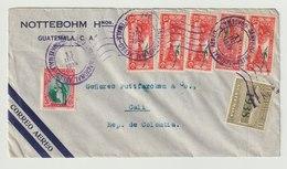 MiNr. 324 U.a. Guatemala /   1936, 1. Okt./1937, 1. Jan. Freimarken: Landschaften Der Karibikküste. - Guatemala