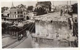 CHATOU   -  Le Pont - Juin 1940 - Chatou