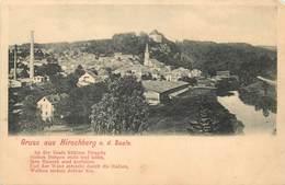 GRUSS  AUS HIRSCHBERG A.d. Saale - Vue Générale. - Allemagne