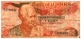 Billet  >  Ghana > 200  Cedis 1990 - Ghana