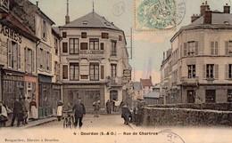 DOURDAN   -  Rue De Chartres - Facteur A Velo - Dourdan