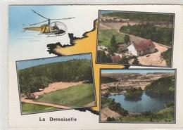 La Demoiselle - Remiremont - 105x150 - Dentelée, Glacée - Timbrée 1961 - Remiremont