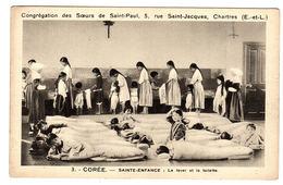 CORÉE - Sainte-Enfance: Le Lever Et La Toilette - ENFANTS -CHILDREN -Ed. Congrégation Des Soeurs De Saint-Paul, Chartres - Korea (Zuid)