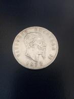 5 Lire Argento 1872 Zecca Milano - 1861-1946 : Reino