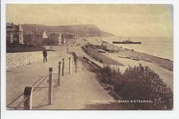 Seaton: Beach & Steamer - Sepiatone 45881 - Other