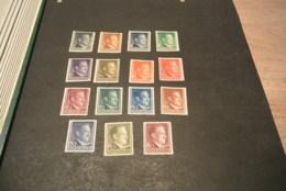 K17781 -stamps Mixed Quality  Deutsches Reich 1941-1944 - Adolf Hitler - Neufs