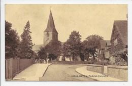 Alton: Parish Church - Sepiatone 40858 - England