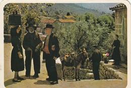 Cpsm Village D'Olivese Villageois En Tenues Traditionnelles - France