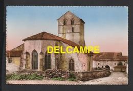 DF / 88 VOSGES / DOMPAIRE - BOUZEMONT / EX CAMP GALLO-ROMAIN / L' EGLISE DU Xe S. / CIRCULÉE EN 1974 - Dompaire