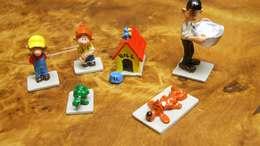 1994 Figurines Mini Pixit  Boule Et Bill Et Caroline + Boîte Et Certificat - Tin Soldiers
